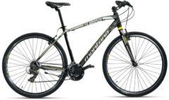 Montana Bike 28 ZOLL MONTANA X-CROSS MOUNTAINBIKE ALUMINIUM 21 GANG MTB Hardtail Herren schwarz