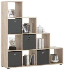 FD Furniture Open Boekenkast Mega 2 - Eiken