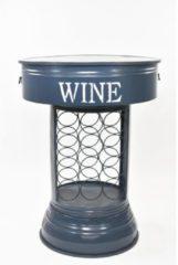 Tisch Wine & Dine HTI-Line Blau
