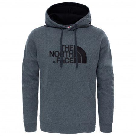 Afbeelding van Grijze The North Face Drew Peak PLV Hoodie - Outdoortrui - Heren - TNF Medium Grey Heather/TNF Black