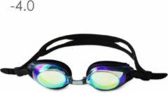 Lovetoswim.nl Zwembril op sterkte -4.0 (mirror)