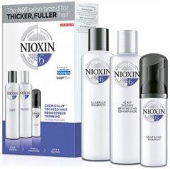 Nioxin System 6 Kit - Zichbaar dunner wordend en chemisch behandeld haar