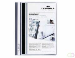 Grijze Durable personaliseerbare snelhechtmap Duraplus grijs