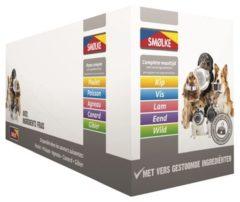 Smolke Vers Gestoomde Maaltijd 10x395 g - Hondenvoer - Mixdoos - Hondenvoer