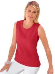 Rode Casual Looks shirttop van puur katoen