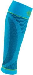 Blauwe Bauerfeind Sports Compression Kuitsleeve Rivera-Maat L: A 38 - 47 cm en B 24 - 27...