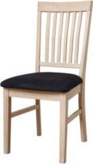 Dynamic24 PKLine 2x Esszimmerstuhl MILENE in Seife behandelter Eiche Küchenstuhl Stühle