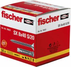 Fischer SX 8 x 40 S/20 Spreidplug 40 mm 8 mm 70022 50 stuk(s)