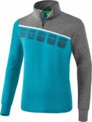 Lichtblauwe Erima 5-C Trainingstop - Sweaters - blauw licht - L