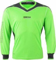 Derbystar Brillant Sportshirt - Maat S - Mannen - groen/grijs/wit