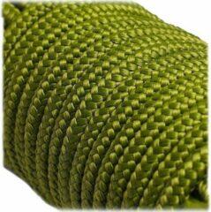 Groene ABC-Led 6MM PPM - Moss - 10 meter - #331- dubbel gevlochten