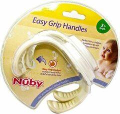 Beige Nûby Nuby Handgrepen voor Zuigfles - vanaf 3 Maanden 2 Stuks