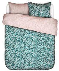 Blauwe Covers En Co Covers & Co Wild Thing Dekbedovertrek - Lits-jumeaux (240x200/220 Cm + 2 Slopen) - Percal Katoen - Petrol