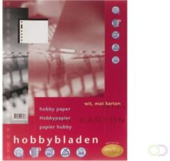 Interieur Multo 23R hobbyblad 140gr 20vel wit