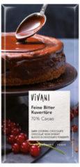 Vivani Dark cooking chocolate (1 Reep van 200 gr)