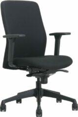 Zwarte Top Line Bureaustoel ergonomisch  Katy Thuisgebruik 