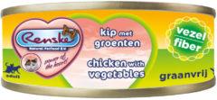 Renske Vers Kat Vezel 70 g - Kattenvoer - Kip&Groente