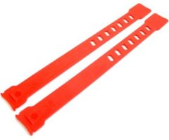 Qibbel Voetenbakriem (rood) - Fietsstoeltje
