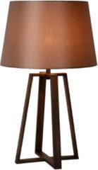 Selected by Coffee tafellamp Ø39 cm roest bruin metaal katoen