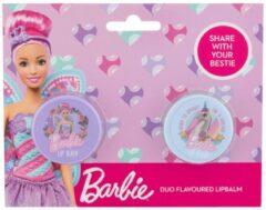 Massamarkt Barbie Lippenbalsem Duo 2x10gr