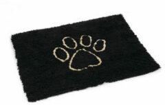 Dog gone smart Dirty Dog Droogloopmat Hond - Dierenmat - Zwart - 88 x 68 cm