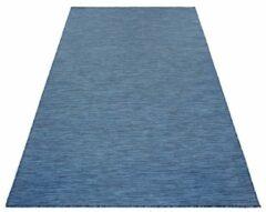 Mambo Sisal Binnen en Buiten Vloerkleed Effen Laagpolig Blauw- 80x150 CM