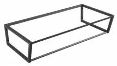 Sapho Industrial wastafel frame mat zwart 90cm