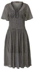 SIENNA Kleid, mit Millefleurs Druck, Kunstfaser