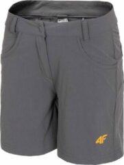 4F Women's Functional Shorts H4L20-SKDF060-23S, Vrouwen, Grijs, Sportbroeken maat: XS