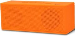 Oranje Pure Acoustics HIPBOXMINIORA Portable bluetooth speaker met radio