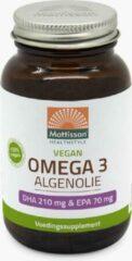Merkloos / Sans marque Mattisson / MT1472 Plantaardige Vegan Omega 3 Algenolie DHA 210mg / EPA 70mg 60 vcaps.