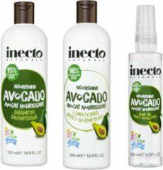 Inecto Avocado Shampoo, Conditioner en Hair Oil