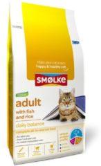 Smolke Cat Adult Vis&Rijst - Kattenvoer - 10 kg - Kattenvoer