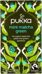 Pukka Org. Teas Mint Matcha groen (20st)