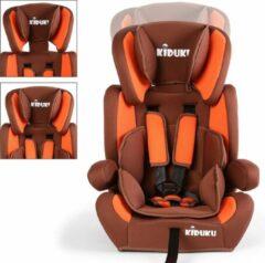 Merkloos / Sans marque Sens Design Autostoeltje - Kinderstoel - Bruin/Oranje
