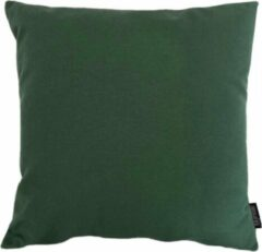 Gek op Kussens! Florea Uni Donkergroen Kussenhoes | Katoen / Polyester | 45 x 45 cm