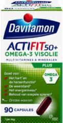 Davitamon actifit omega3 Vis 50+ - 90 capsules - Voedingssupplement