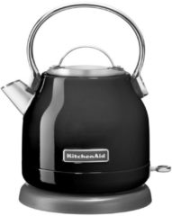 Zwarte KitchenAid Artisan waterkoker 1,25 liter 5KEK1222EOB