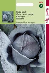 Hortitops Zaden - Rodekool Langedijker Vroege (Zomer)