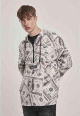 Creme witte Urban Classics Windbreaker jacket -M- Mister Tee Dollar Creme