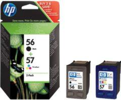 HP Inc HP 56/57 Combo Pack - 2er-Pack - Schwarz, Farbe (Cyan, Magenta, Gelb) SA342AE