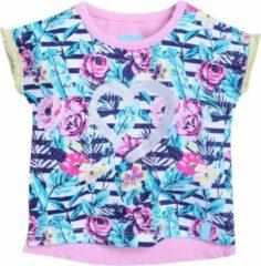 Beebielove Babykleding Meisjes Tshirt Flowers (Multicolor) - 80