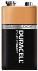 Zwarte Duracell Alkaline Plus Power - 9 Volt - MN1604 Niet-oplaadbare batterij