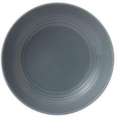 Donkergrijze Royal Doulton Gordon Ramsay Maze Grey Schaal Pasta - Ø24cm