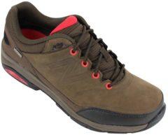 Rode New Balance MW1300 (2E) wandelschoenen heren bruin/rood