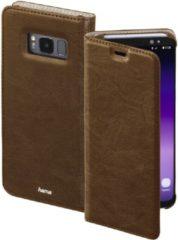 Hama Guard Case Booklet Geschikt voor model (GSMs): Samsung Galaxy S8+ Bruin