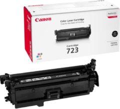 Zwarte Canon 723 Tonercartridge - Zwart