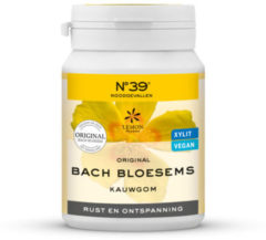 Lemonpharma Bach Bach Bloesems Kauwgom Noodgevallen Nr 39 (40st)