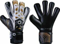 Goudkleurige Elite Keepershandschoenen 27 Cm Zwart/goud Combat F-10