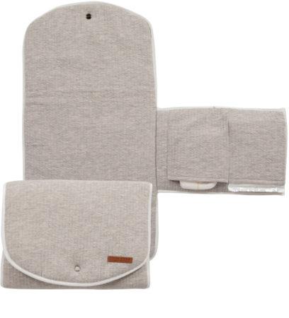 Afbeelding van Grijze Little Dutch verschoningsmatje comfort - pure grey